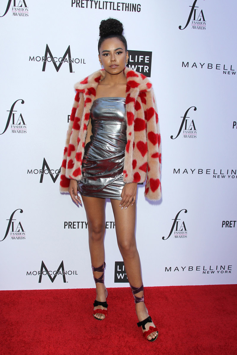 Ava Dash APRIL 08: The Daily Front Row's 4th Annual Fashion Los Angeles Awards held at the Beverly Hills Hotel on April 8, 2018 in Beverly Hills, Los Angeles, California, United States