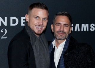 """Charly DeFrancesco and Marc Jacobs attend the """"Zoolander 2"""" world premiere at Alice Tully Hall in New York City. LAN"""