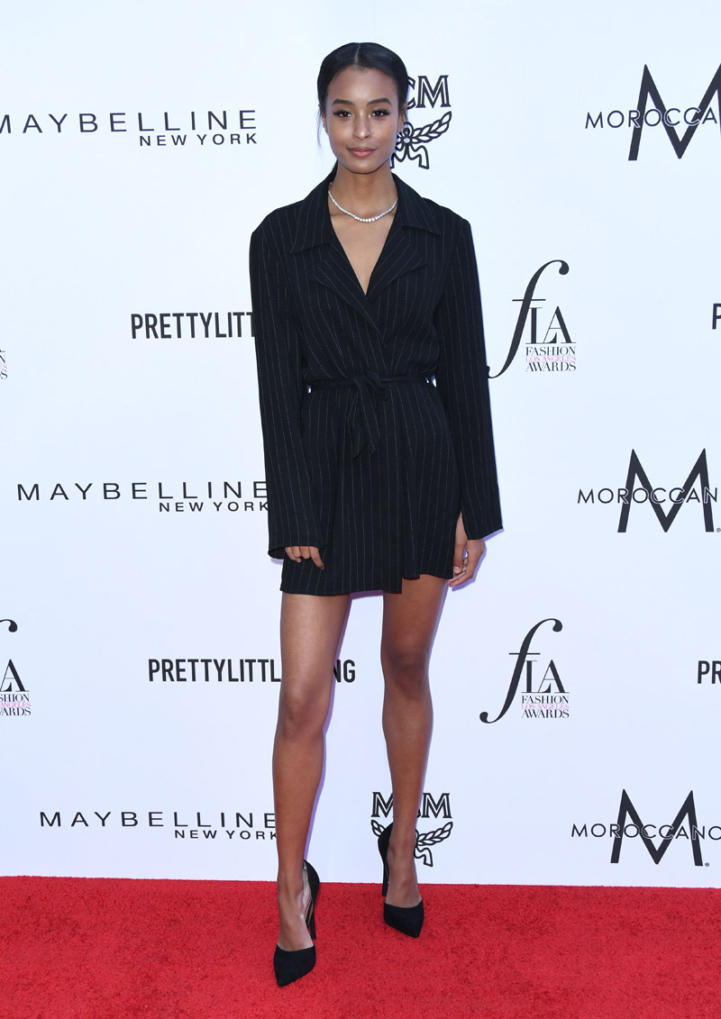 Nala Wayans APRIL 08: The Daily Front Row's 4th Annual Fashion Los Angeles Awards held at the Beverly Hills Hotel on April 8, 2018 in Beverly Hills, Los Angeles, California, United States