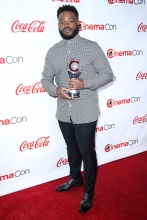 Ryan Coogler LAS VEGAS, NV, USA - APRIL 26: CinemaCon Big Screen Achievement Awards 2018 held at Omnia Nightclub at Caesars Palace during CinemaCon, the official convention of the National Association of Theatre Owners on April 26, 2018 in Las Vegas, Nevada, United States.