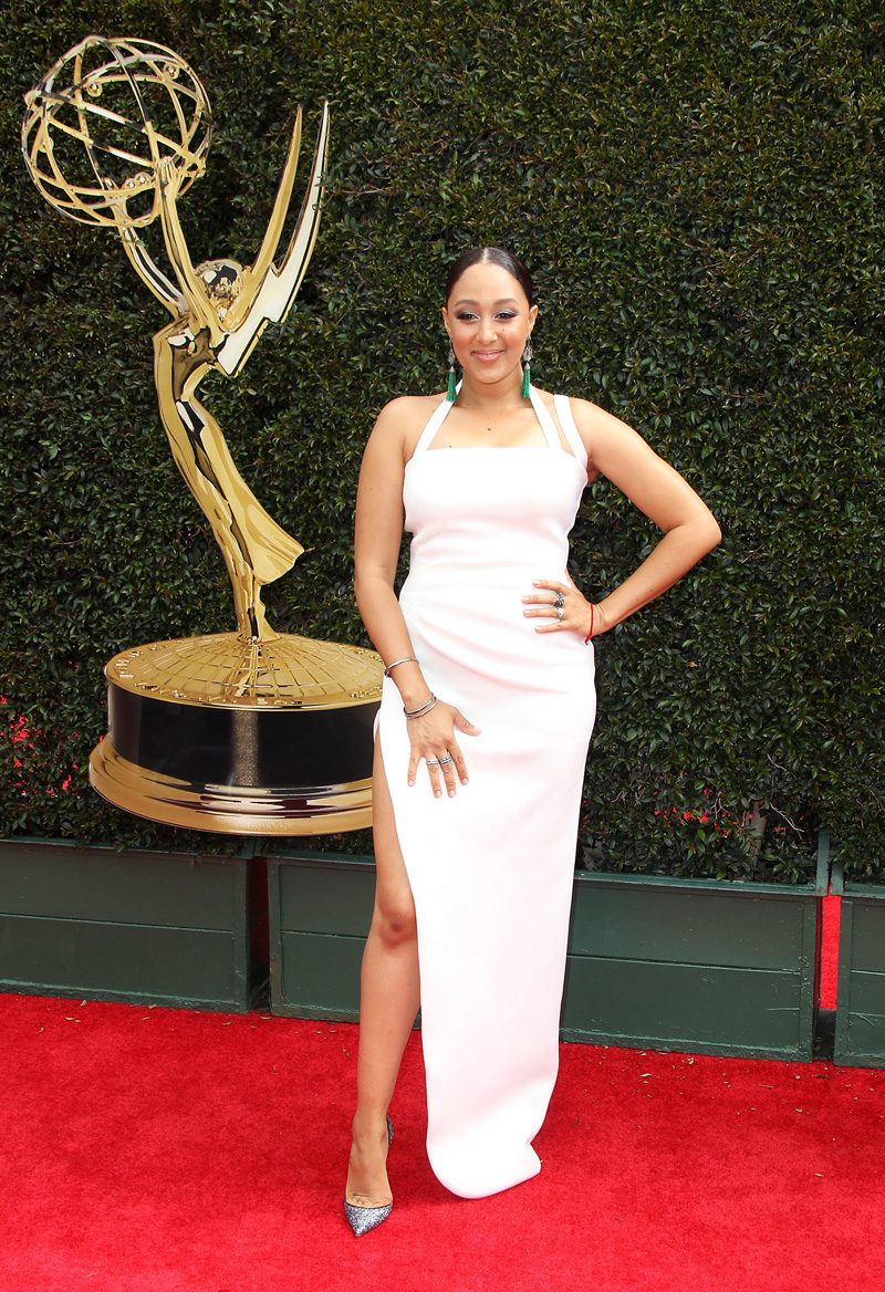 45th Annual Daytime Emmy Awards 2018 Arrivals held at the Pasadena Civic Center in Pasadena, California.  Tamera Mowry
