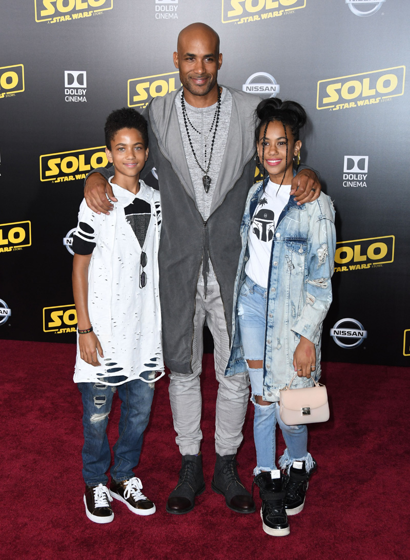 "Boris Kodjoe kids A Star Wars Story"" Los Angeles Premiere"