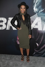 Stars attend the premiere of 'Breaking In' in Los Angeles Bresha Webb