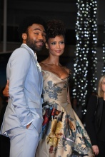 "Donald Glover Thandie Newton 71st Cannes Film Festival - Premiere of ""Solo: A Star Wars Story"". Stars walk the red carpet on May 15, 2018"