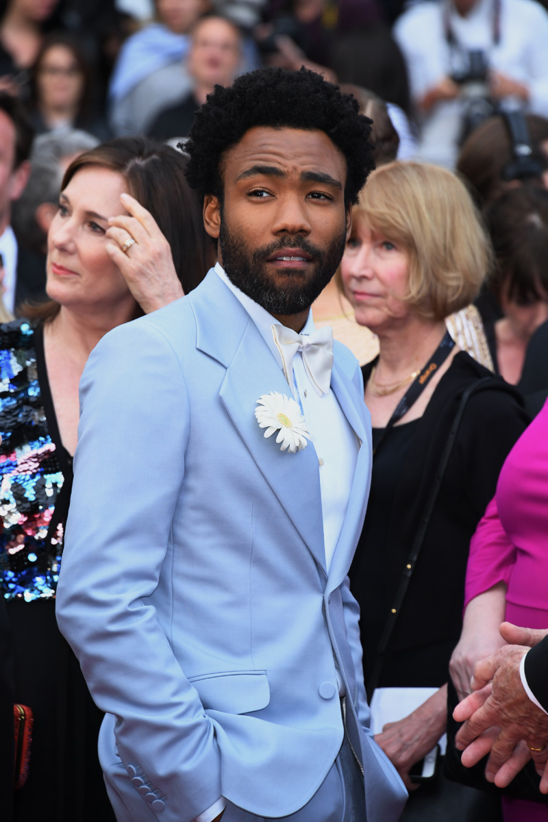 "Donald Glover 71st Cannes Film Festival - Premiere of ""Solo: A Star Wars Story"". Stars walk the red carpet on May 15, 2018"