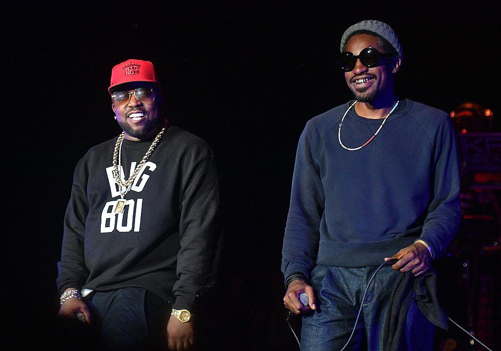 ATLANTA, GA - SEPTEMBER 10:  Big Boi and Andre 3000 of Outkast perform at One MusicFest at Lakewood Amphitheatre on September 10, 2016 in Atlanta, Georgia.