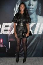Stars attend the premiere of 'Breaking In' in Los Angeles Jennifer Williams