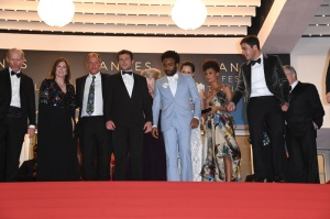 "Thandie Newton Alden Ehrenreich Donald Glover 71st Cannes Film Festival - Premiere of ""Solo: A Star Wars Story"". Stars walk the red carpet on May 15, 2018"