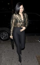 Jessie J British singer Jessie J was seen arriving to Stevie Wonders Song Party at Peppermint Night Club in West Hollywood