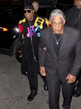 Stevie Wonder Stevie Wonder held an early Birthday and a Song party at Peppermint Night Club in West Hollywood