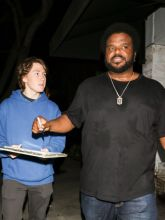 Craig Robinson Stevie Wonder is spotted arriving to The Peppermint Club in West Hollywood