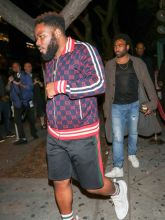 Stephen Donald Glover Stevie Wonder is spotted arriving to The Peppermint Club in West Hollywood