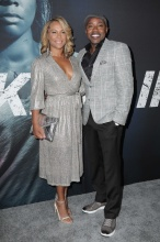 Stars attend the premiere of 'Breaking In' in Los Angeles Will Packer, Heather Hayslett