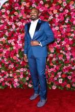 Brandon Victor Dixon 2018 Tony Awards held at Radio City Music Hall - Arrivals.