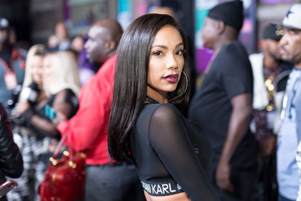 HOLLYWOOD, CA - SEPTEMBER 17:  Erica Mena arrives for VH1's Hip Hop Honors: The 90's Game Changers at Paramount Studios on September 17, 2017 in Hollywood, California.