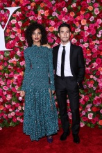 Indya Moore 2018 Tony Awards held at Radio City Music Hall - Arrivals.