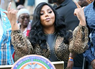 Lil Kim The 2018 Power Of Influence Awards at New York's City Hall