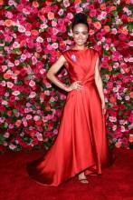 Lauren Ridloff 2018 Tony Awards held at Radio City Music Hall - Arrivals.