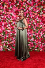 Noma Dumazweni 2018 Tony Awards held at Radio City Music Hall - Arrivals.