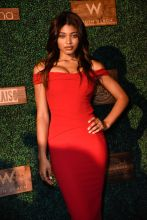 2018 Sports Illustrated Swimsuit show at PARAISO during Miami Swim Week at The W Hotel South Beach on July 15, 2018 in Miami, Florida. Among the stunners spotted at the show were Olivia Culpo, Christie Brinkley, Camille Kostek, Anna de Paula. Danielle Herrington