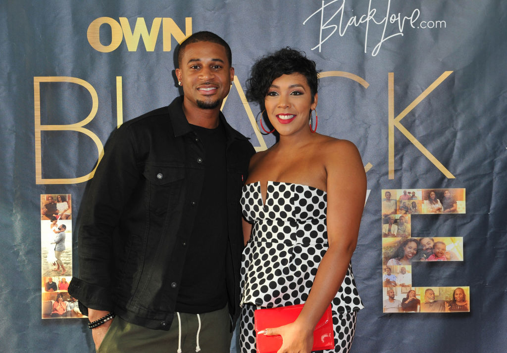 "HOLLYWOOD, CA - MAY 28:  Devale and Khadeen Ellis attend OWN's ""Black Love"" Clips & Conversation event at The Ricardo Montalban Theatre on May 28, 2018 in Hollywood, California."