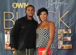 """HOLLYWOOD, CA - MAY 28: Devale and Khadeen Ellis attend OWN's """"Black Love"""" Clips & Conversation event at The Ricardo Montalban Theatre on May 28, 2018 in Hollywood, California."""