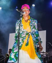 Ms. Lauryn Hill performs live during The Miseducation of Lauryn Hill 20th Anniversary Tour at Festival Pier at Penn's Landing in Philadelphia, PA. Ms. Lauryn Hill is celebrating twenty years of her anthemic debut solo album The Miseducation of Lauryn Hill which was released in August 1998