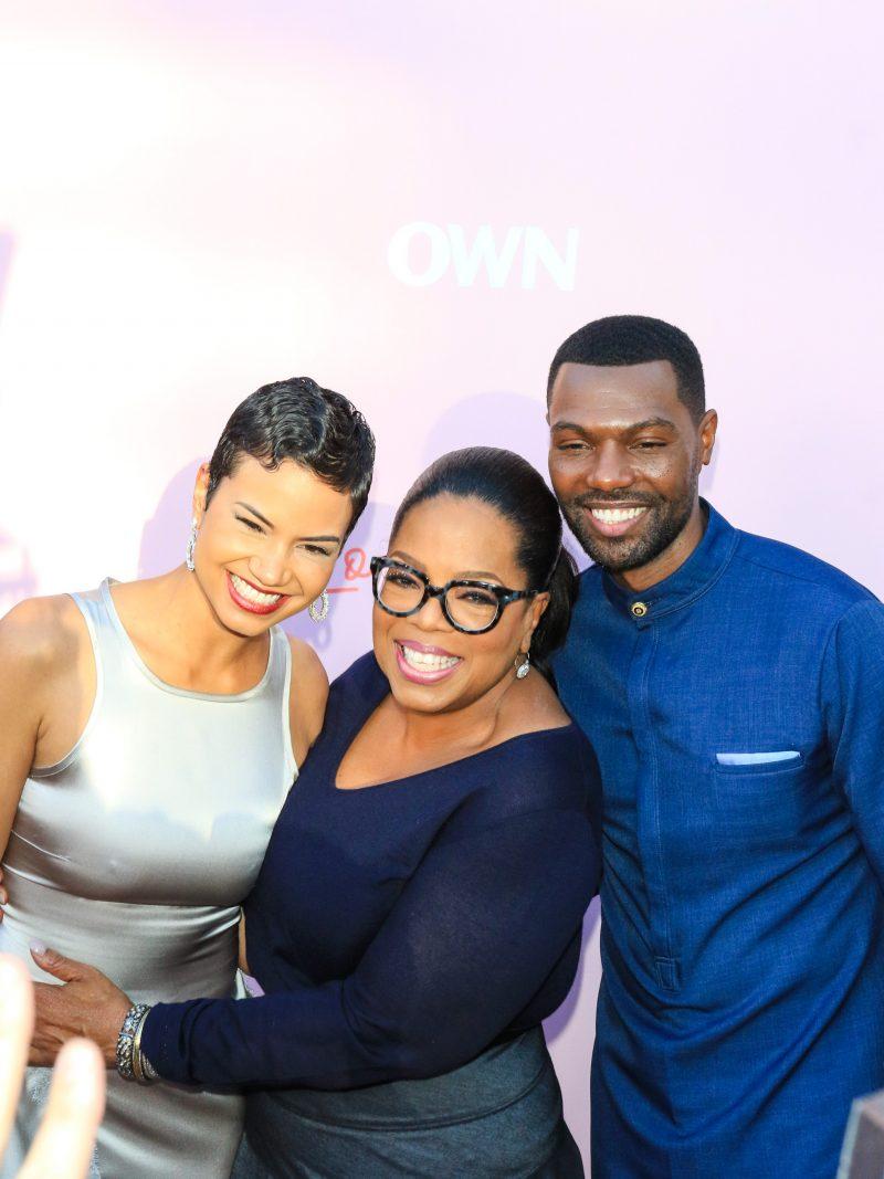 'Love Is' Premiere at Neuehouse in Hollywood  Pictured: Michele Weaver,William Catlett,Oprah Winfrey