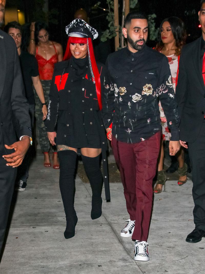 Celebrity BFFs, Blac Chyna and Amber Rose App Launch Hollywood Chyna's new boyfriend Arab