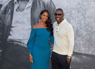 Sabrina Dhowre Idris Elba Yardie premiere London Southbank