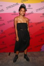 BROOKLYN, NY - SEPTEMBER 05: Zazie Beetz attends the Expand Your Reality Opening Party on September 5, 2018 in Brooklyn City.
