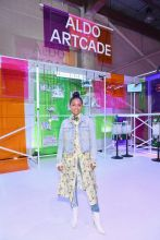 BROOKLYN, NY - SEPTEMBER 05: Yara Shahidi attends the Expand Your Reality Opening Party on September 5, 2018 in Brooklyn City.