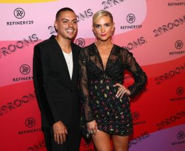 BROOKLYN, NY - SEPTEMBER 05: Evan Ross and Ashlee Simpson Ross attend the Expand Your Reality Opening Party on September 5, 2018 in Brooklyn City.