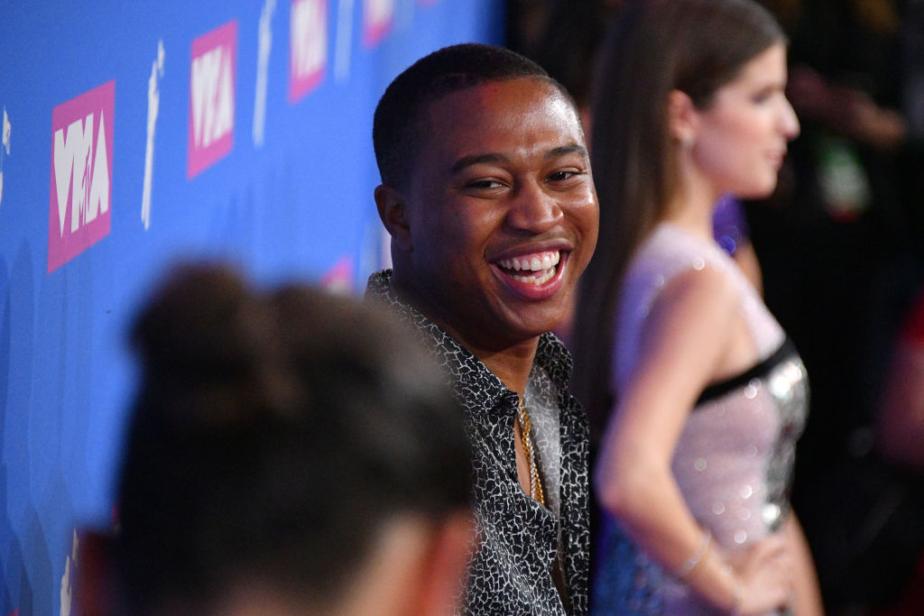 NEW YORK, NY - AUGUST 20: Shiggy attends the 2018 MTV Video Music Awards at Radio City Music Hall on August 20, 2018 in New York City.