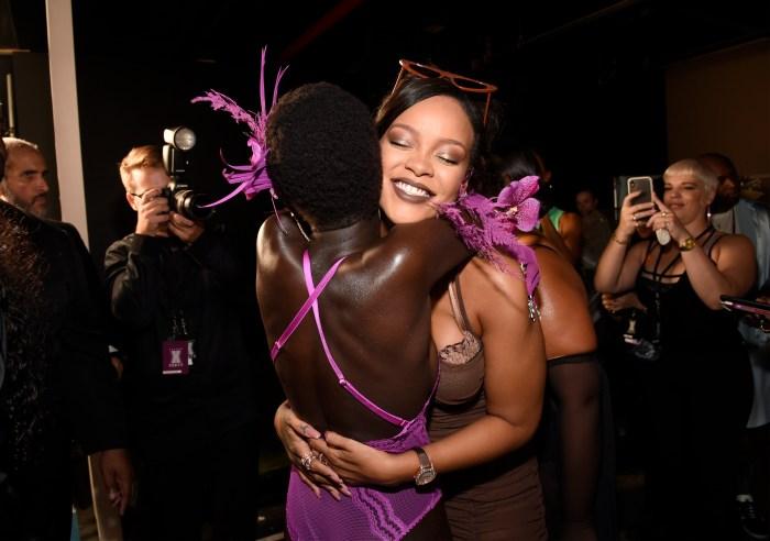 Rihanna Fenty debut
