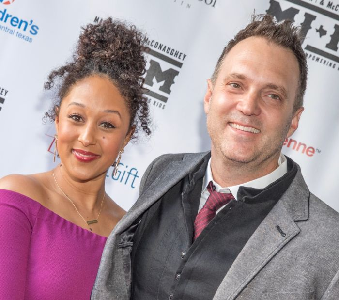 """Tamera Mowry-Housley says husband Adam is not Racist on 'The Real"""""""