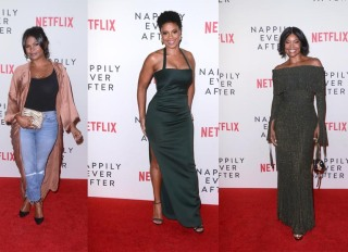 Nia Long Sanaa Lathan Gabrielle Union 'Nappily Ever After' Special Screening, Harmony Gold Theater