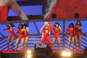 Cardi B performs onstage during the 2018 Global Citizen Festival: Be The Generation in Central Park on September 29, 2018 in New York City.