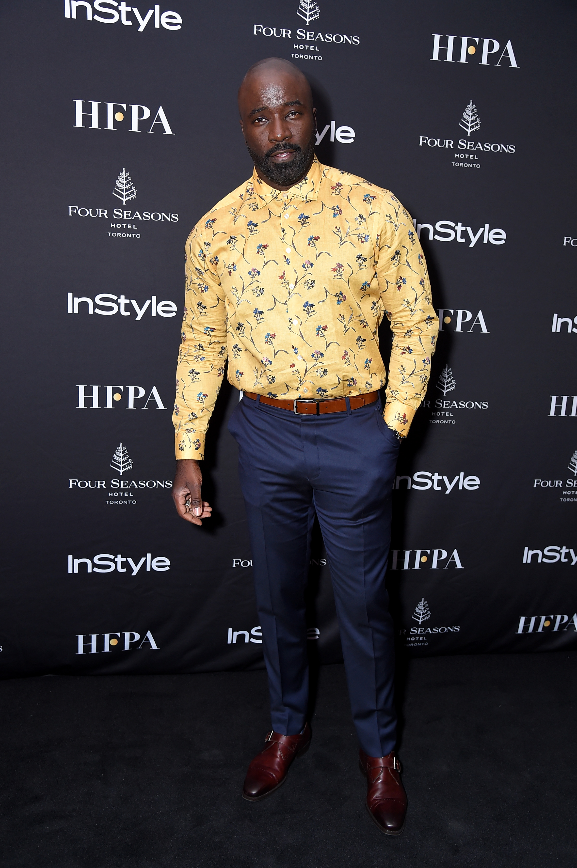 Mike Colter at the 2018 Toronto International Film Festival