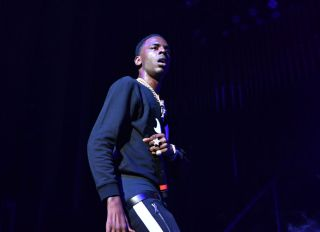 ATLANTA, GA - MAY 05: Rapper Young Dolph performs in concert at The Tabernacle on May 5, 2018 in Atlanta, Georgia
