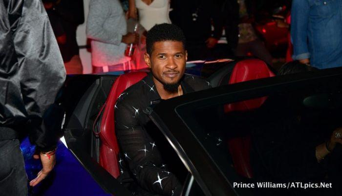 Usher Usher Birthday Party Gold Room