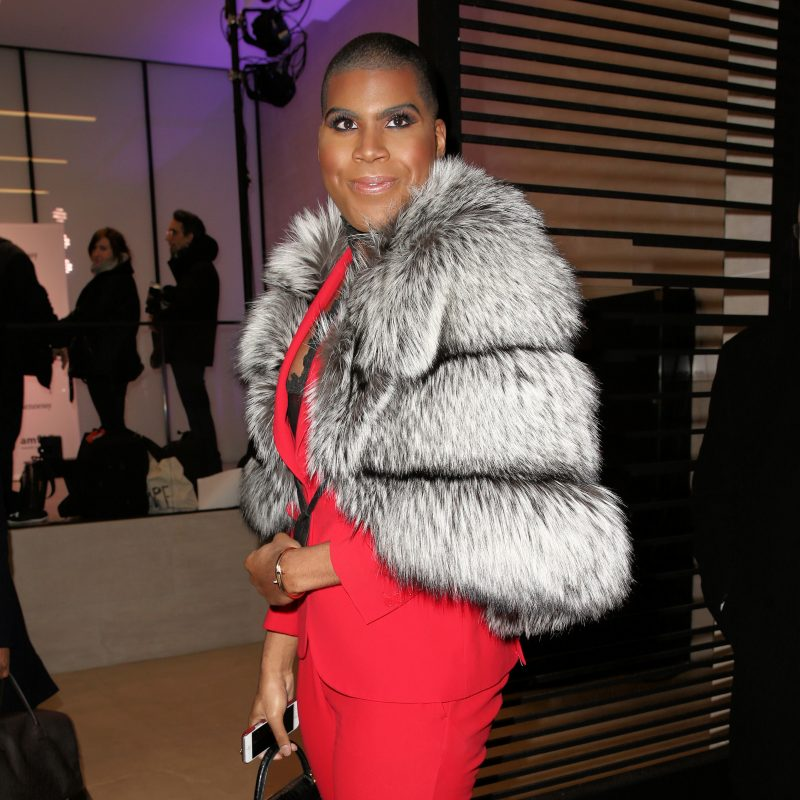 TV personality E.J. Johnson attends the 2016 amfAR GenerationCure holiday party at Cadillac House in New York City, NY.