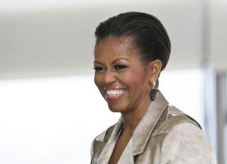 michelle obama first kiss trip to costco ellen