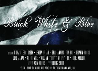Black, White & Blue