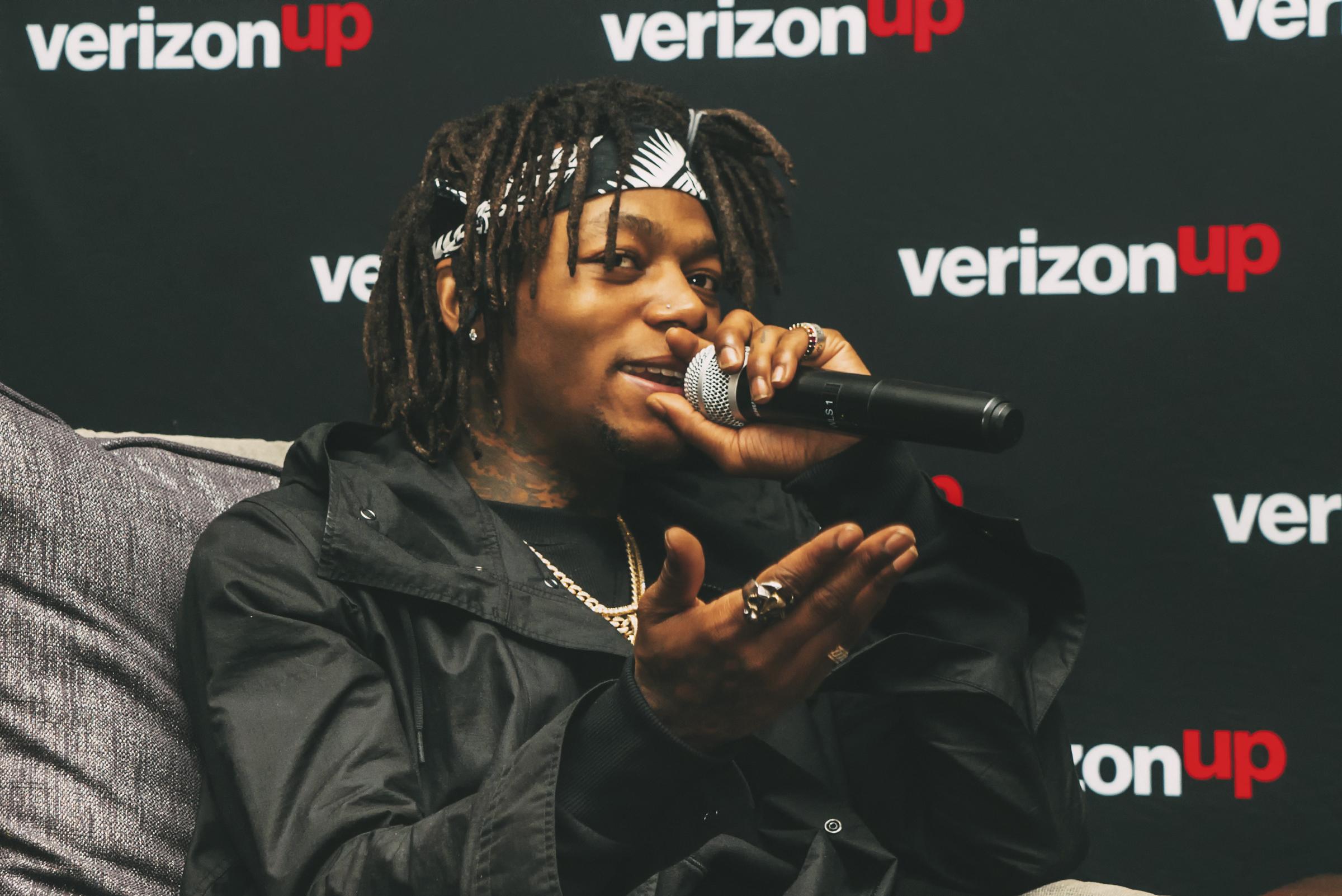 J.I.D. at Verizon Loyalty Reward