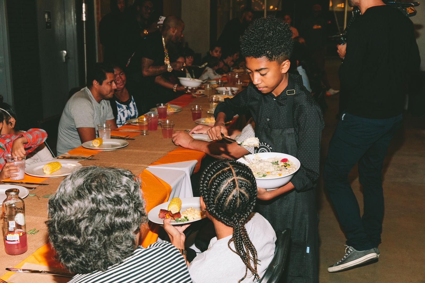 Thanksgiving Eve Giveback Dinner