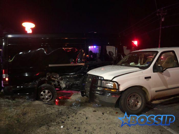 Paul Wall Car Crash