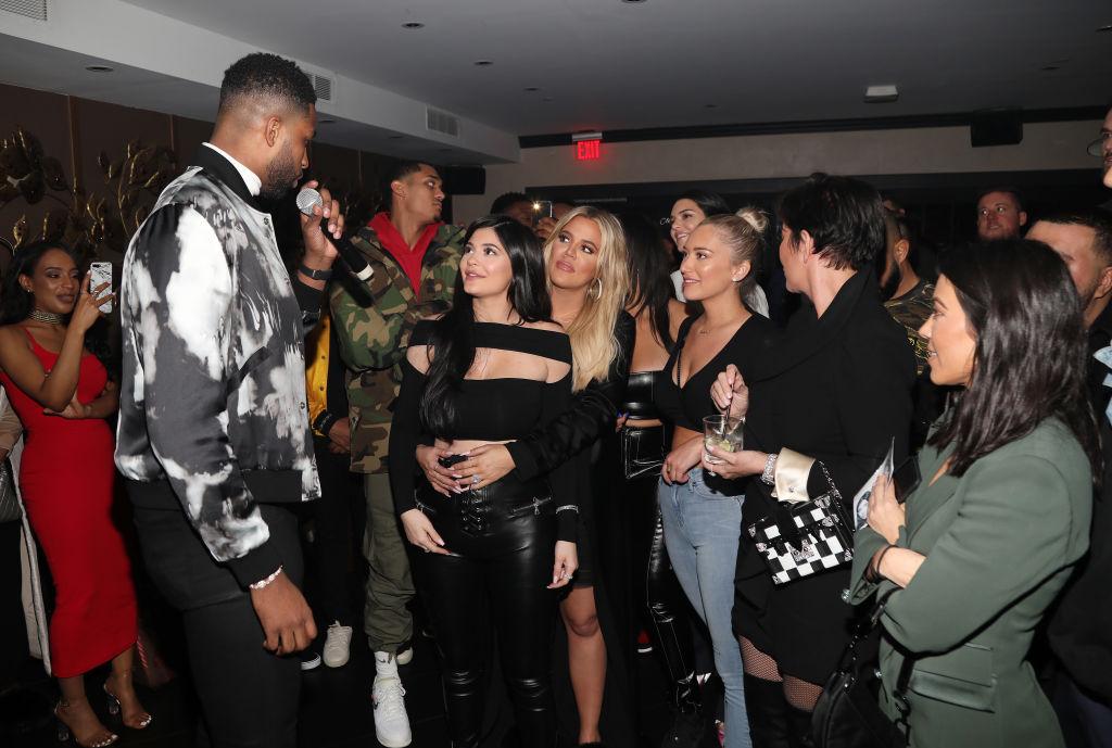 Tristan Thompson Kardashian family