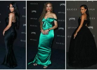 LACMA Gala Kim Kardashian West Andra Day Karrueche Tran