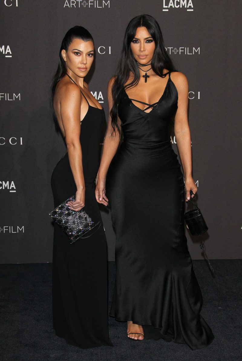 Kourtney Kardashian Kim Kardashian West 2018 LACMA Art + Film Gala - Arrivals